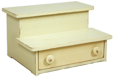 STEP STOOL WITH DRAWER