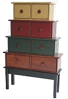 5Piece Graduating Stacking Chest